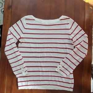 Cub Monaco Red Striped Sweater